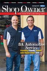 Shop Owner Magazine July 2014