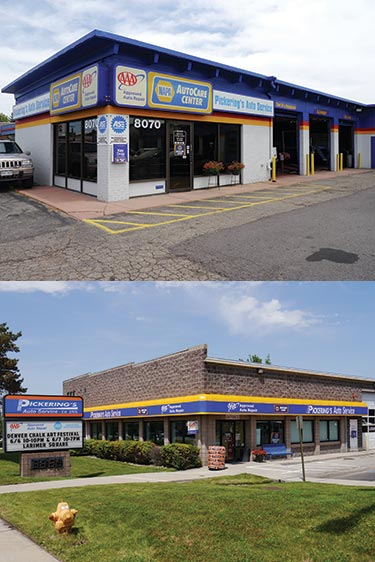 Pickering's Auto locations