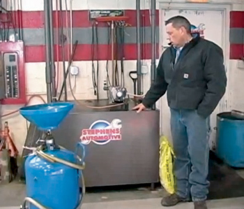 Waste Not, Want Not: Waste Oil Heaters Can Drastically Cut
